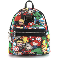 Loungefly X Marvel Avengers Kawaii Mini Backpack - Cobalt Heights