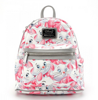 Loungefly X Disney Marie Mini Backpack - Cobalt Heights