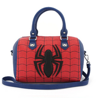 Loungefly X Marvel Spiderman Red Blue Handbag - Cobalt Heights