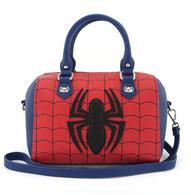 Loungefly X Marvel Spiderman Red Blue Handbag - Cobalt Heights