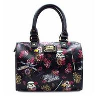 Loungefly X Star Wars Floral Stormtrooper Pebble Handbag - Cobalt Heights