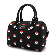 Loungefly X Pokemon Pokeball Pebble Handbag - Cobalt Heights