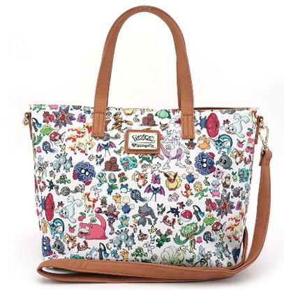 Loungefly X Pokemon Multi Characters Handbag - Cobalt Heights
