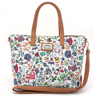 Loungefly X Pokemon Multi Characters Handbag - Cobalt Heights