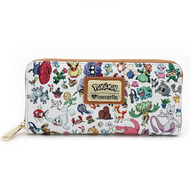 Loungefly X Pokemon Multi Characters Wallet - Cobalt Heights