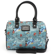Loungefly X Pokemon Magikarp Gyarados Waves Handbag - Cobalt Heights