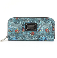 Loungefly X Pokemon Magikarp Gyarados Waves Wallet - Cobalt Heights