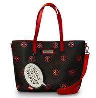 Loungefly X Marvel Deadpool Relax Handbag - Cobalt Heights