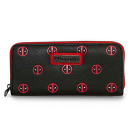 Loungefly X Marvel Deadpool Relax Wallet - Cobalt Heights