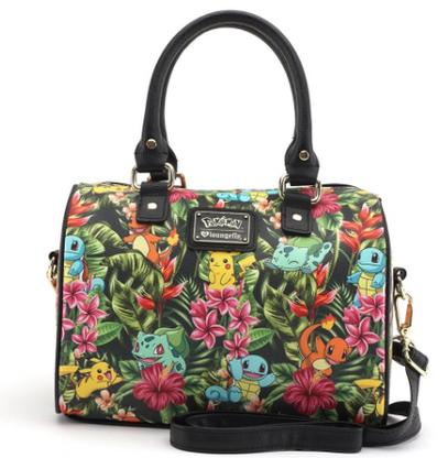 Loungefly X Pokemon Tropical Starter Pebble Handbag - Cobalt Heights