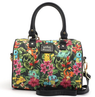 Loungefly X Pokemon Tropical Starter Pebble Handbag - Cobalt Heights