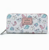 Loungefly X Pokemon Pastel Starters Wallet - Cobalt Heights