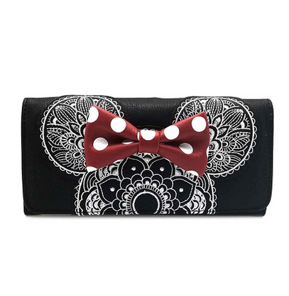 Loungefly X  Disney Minnie Mandala Wallet - Cobalt Heights