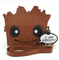 Loungefly X Marvel Groot Die Cut Handbag - Cobalt Heights