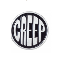 Sourpuss Creep Lapel Pin - Cobalt Heights