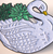 Hungry Designs Succulent Swan Lapel Pin - Close - Cobalt Heights