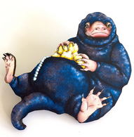 Hungry Designs Niffler Brooch - Cobalt Heights