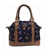Loungefly X Marvel Captain America Floral Handbag - Cobalt Heights