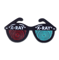 Sourpus X-ray Specs Lapel Pin