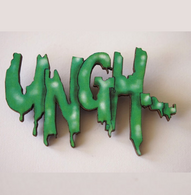 Hungry Designs Zombie Ungh Brooch - Cobalt Heights