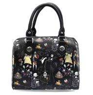 Loungefly X The Nightmare Before Christmas Handbag - Back - Cobalt Heights