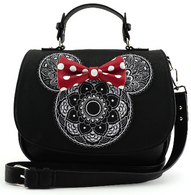 Loungefly X Disney Minnie Mandala Cross Body Bag - Cobalt Heights