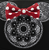 Loungefly X Disney Minnie Mandala Cross Body Bag - Close Up - Cobalt Heights