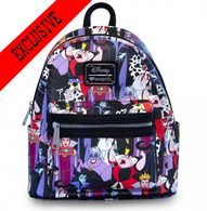 Loungefly X Disney Villains Mini Backpack - Cobalt Heights