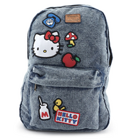 Loungefly X Hello Kitty Denim Backpack - Cobalt Heights
