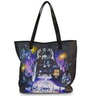 Loungefly X Star Wars Empire Strikes Back Space Scene Tote - Cobalt Heights
