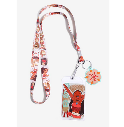 Loungefly X Disney Moana Lanyard - Cobalt Heights