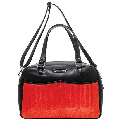 Sourpuss Retro Diaper Bag - Red - Cobalt Heights