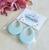 Los Flamingo Idda Teardrop Earrings - Baby Blue - Cobalt Heights