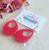 Los Flamingo Idda Teardrop Earrings - Red - Cobalt Heights
