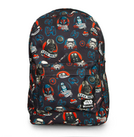 Loungefly X Star Wars Darkside Flash Tattoo Backpack - Cobalt Heights