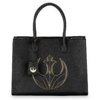 Loungefly X Star Wars Rebel Canto Large Plaque Handbag - Cobalt Heights