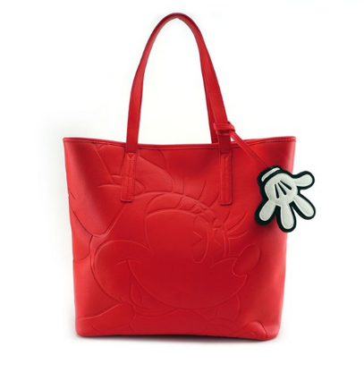 Loungefly X Disney Minnie Mouse Embossed Tote - Cobalt Heights