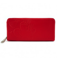 Loungefly X Disney Minnie Mouse Embossed Wallet - Cobalt Heights