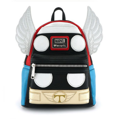 Loungefly X Marvel Thor Cosplay Mini Backpack - Cobalt Heights