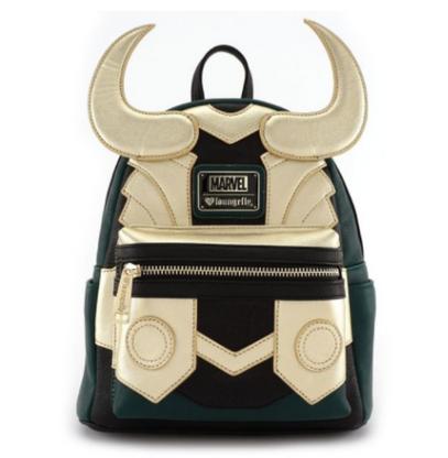 Loungefly X Marvel Loki Cosplay Mini Backpack - Cobalt Heights
