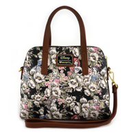 Loungefly X Disney Princess Floral Handbag - Cobalt Heights