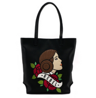 Loungefly X Star Wars Leia Rebel Tote Handbag - Cobalt Heights