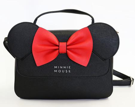 Loungefly X Disney Minnie Mouse Ears Crossbody Purse - Cobalt Heights