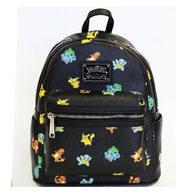 Loungefly X Pokemon Starters Mini Backpack - Cobalt Heights