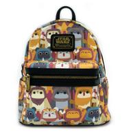 Loungefly X Star Wars Ewok Print Mini Backpack - Cobalt Heights