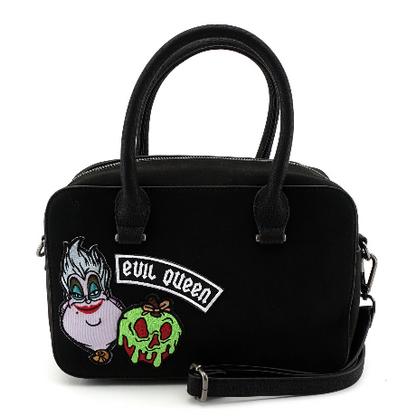 Loungefly X Disney Villains Patches Handbag - Cobalt Heights