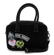 Loungefly X Disney Villains Patches Handbag - Cobalt Heights
