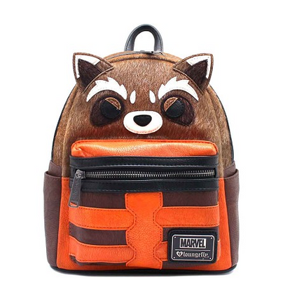 Loungefly X Marvel Rocket Mini Backpack - Cobalt Heights