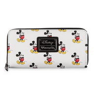 Loungefly X Disney Mickey Mouse Print Wallet - Cobalt Heights