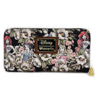 Loungefly X Disney Princess Floral Wallet - Cobalt Heights